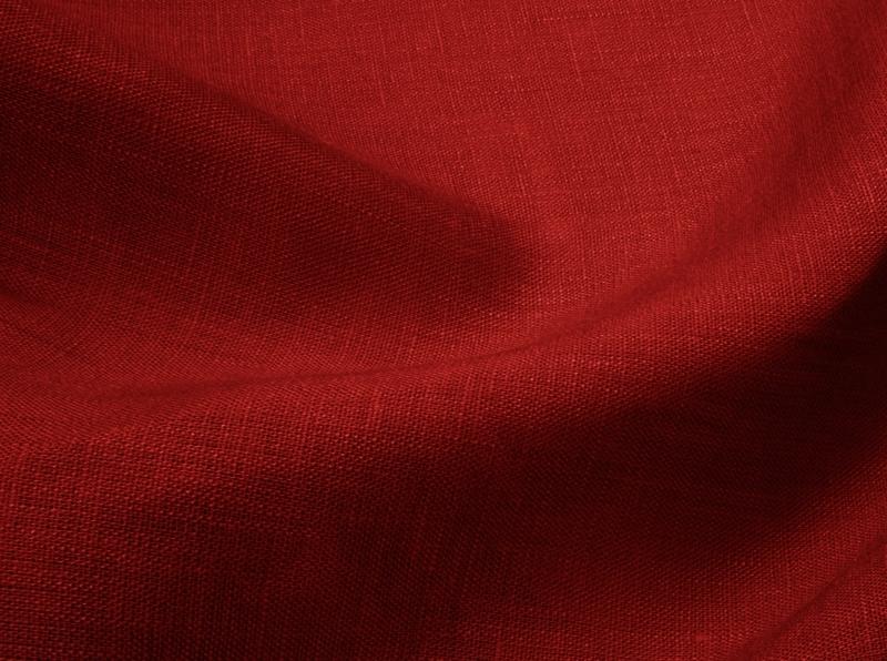 Ткань сорочечная лен 100 гранат фото 1>                   <span class=