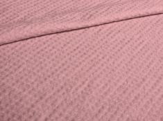 Ткань с эффетом мятости п лен малиновый щербет фото 1
