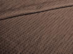 Ткань полотенечная с эффектом мятости п лен каштан фото 1