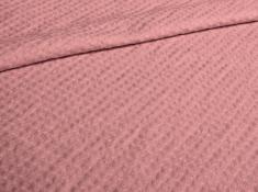 Ткань с эффектом мятости п лен бутон розы фото 1