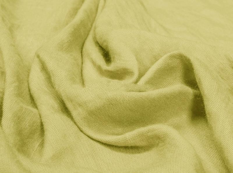 Ткань с эффектом мятости лен с вискозой весенний бутон фото 1>                   <span class=