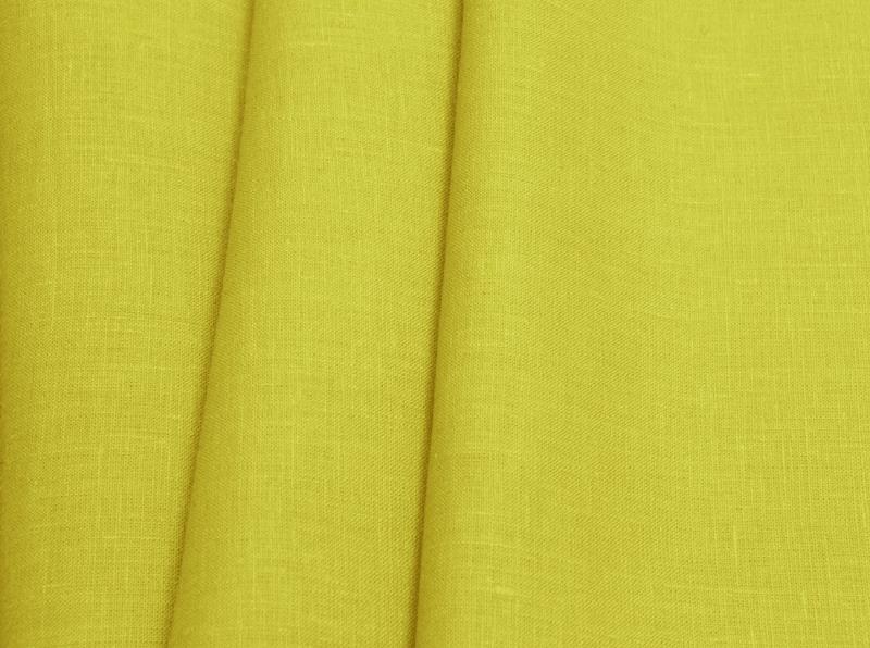 Ткань костюмная лен 100 спелая груша фото 1>                   <span class=