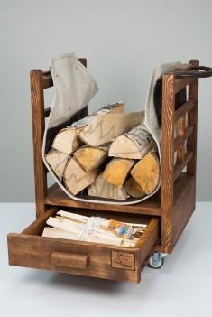 Домашняя дровница  на кол сиках суоярви фото 1