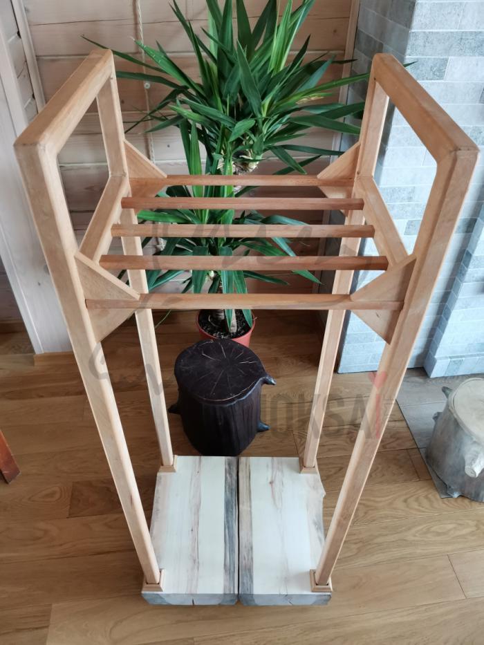 Домашняя дровница  нижняя часть из сосны 40мм фото 4>                   <span class=