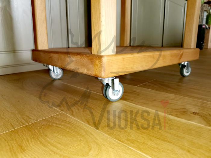 Домашняя дровница  нижняя часть из сосны 40мм фото 9>                   <span class=