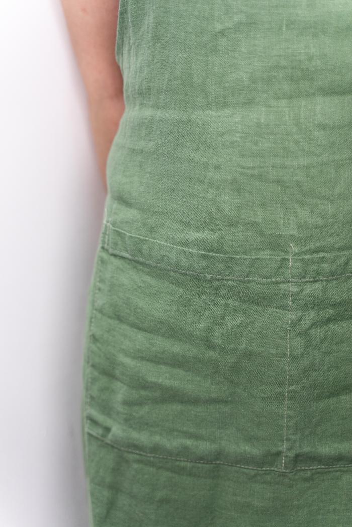Фартук женский оливковый мати фото 3>                   <span class=