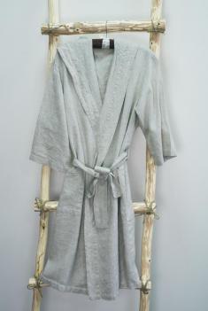 Халат для бани лен 100 линна фото 1