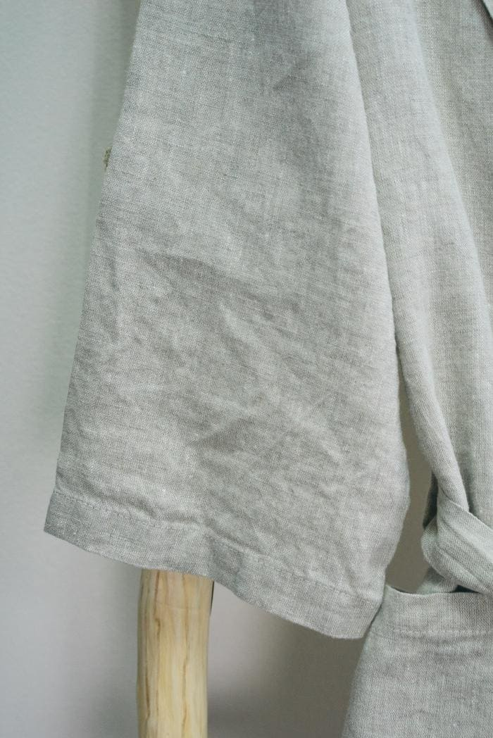 Халат для бани лен 100 линна фото 4