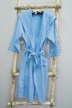 Халат для бани п лен саари фото 1