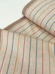 Холст полотенечный п лен бежевый песок фото 1