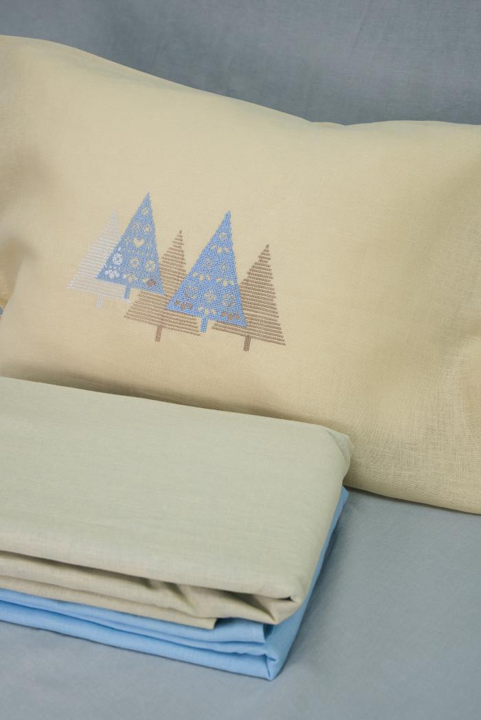 Комплект постельного белья лен 100 лапландия евро фото 2>                   <span class=