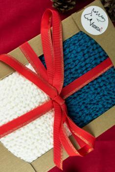 Подарочный набор из 2 х полотенец 80 140 см фото 1