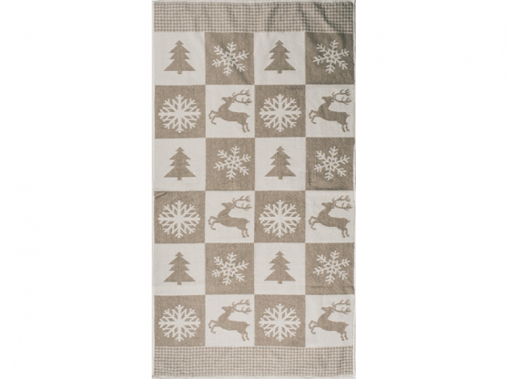 Полотенце махровое п лен олени новогодние 81 160 фото 1>                   <span class=