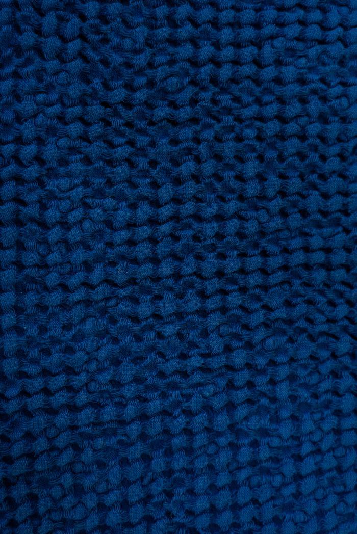 Вафельное полотенце в темно синем цвете 50 70 см фото 2>                   <span class=