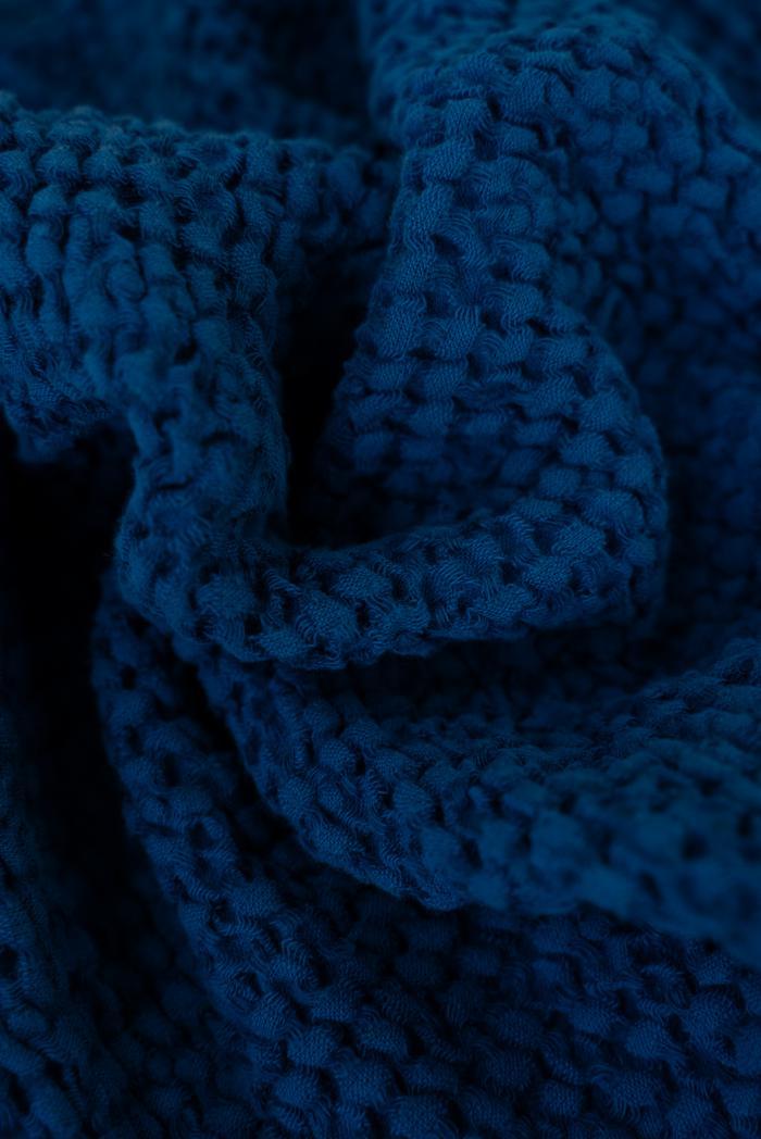 Вафельное полотенце в темно синем цвете 50 70 см фото 5>                   <span class=