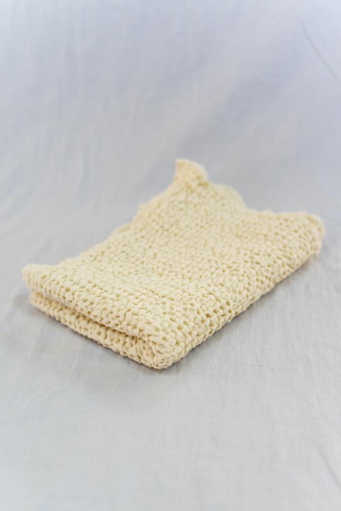 Вафельное полотенце в бежевом цвете 50 70 см фото 1>                   <span class=