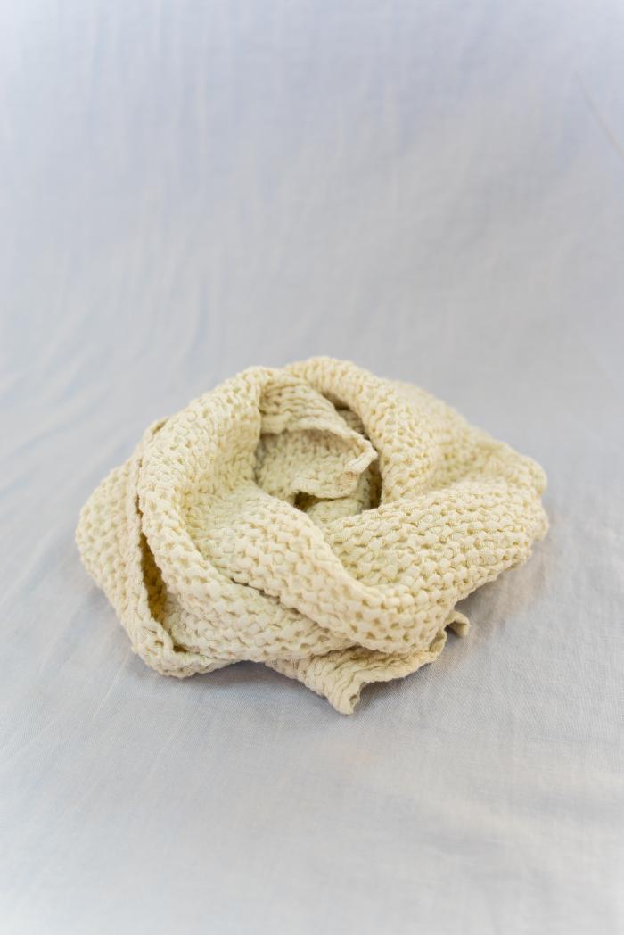 Вафельное полотенце в бежевом цвете 50 70 см фото 2>                   <span class=