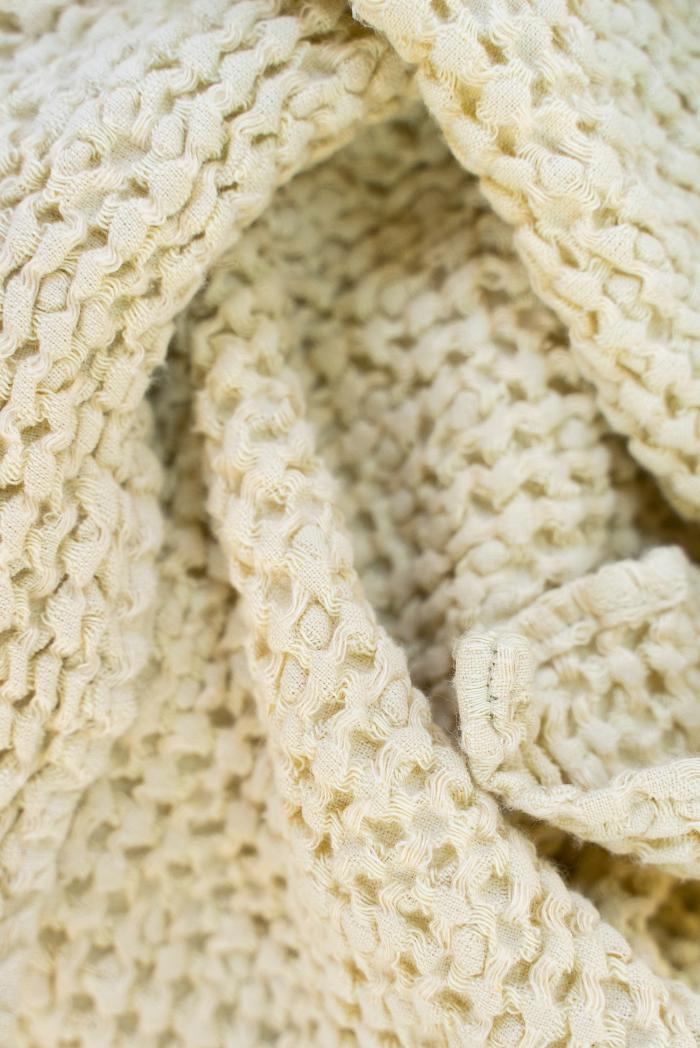 Вафельное полотенце в бежевом цвете 50 70 см фото 3>                   <span class=