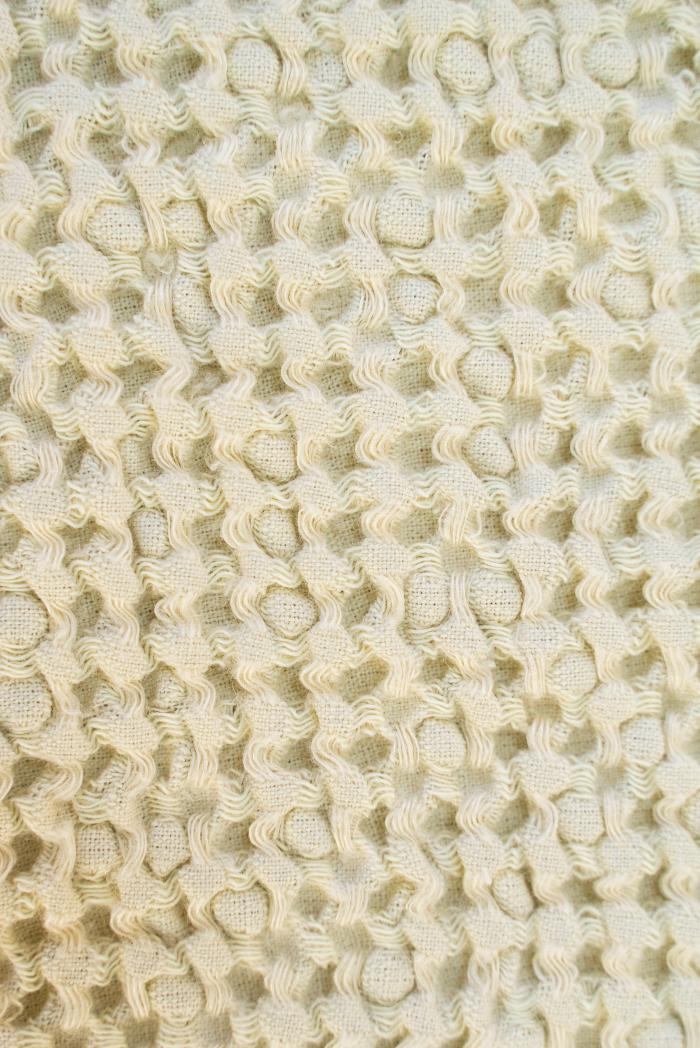 Вафельное полотенце в бежевом цвете 50 70 см фото 4>                   <span class=