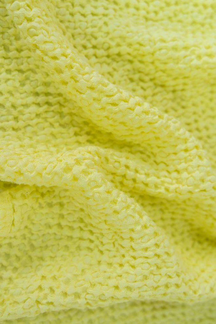 Вафельное полотенце в желтом цвете 50 70 см фото 4>                   <span class=