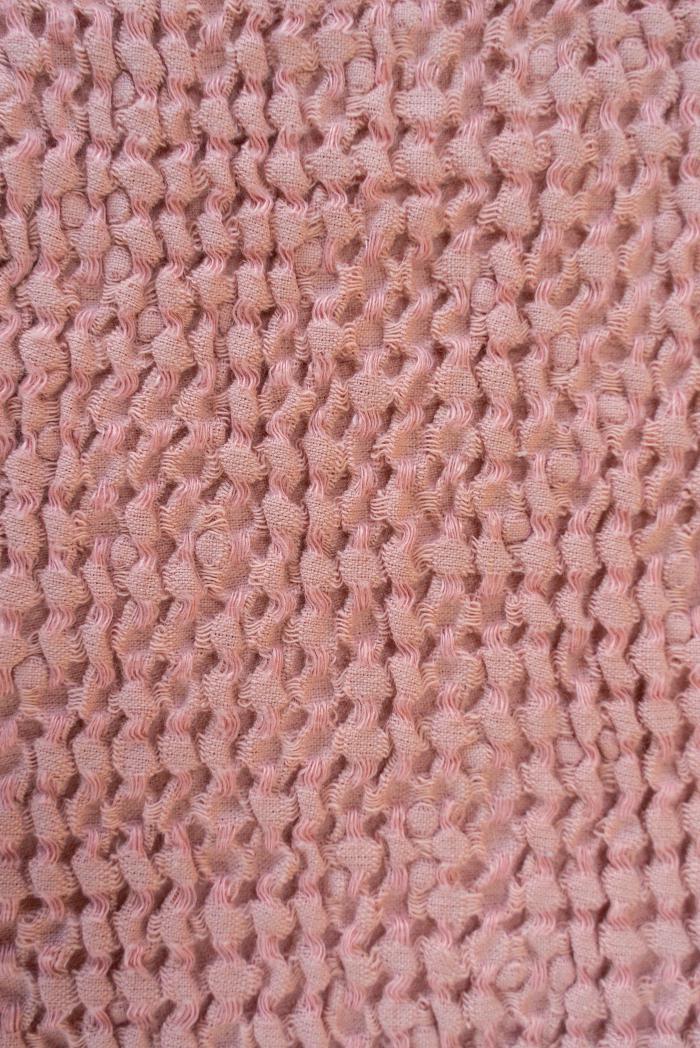 Вафельное полотенце в розовом цвете 75 120 см фото 2>                   <span class=