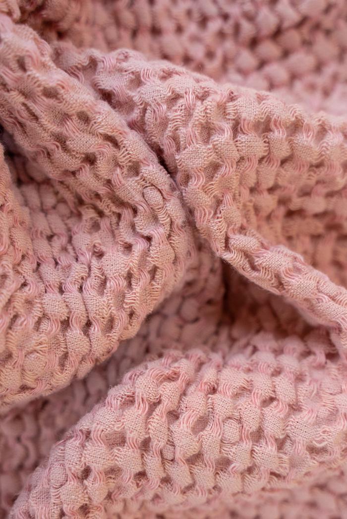 Вафельное полотенце в розовом цвете 75 120 см фото 4>                   <span class=