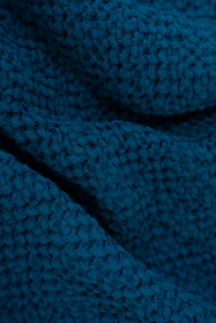 Вафельное полотенца в синем цвете 75 120 см фото 4>                   <span class=