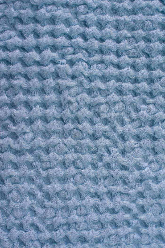 Вафельное полотенце в светло голубом цвете 75 120 см фото 3>                   <span class=