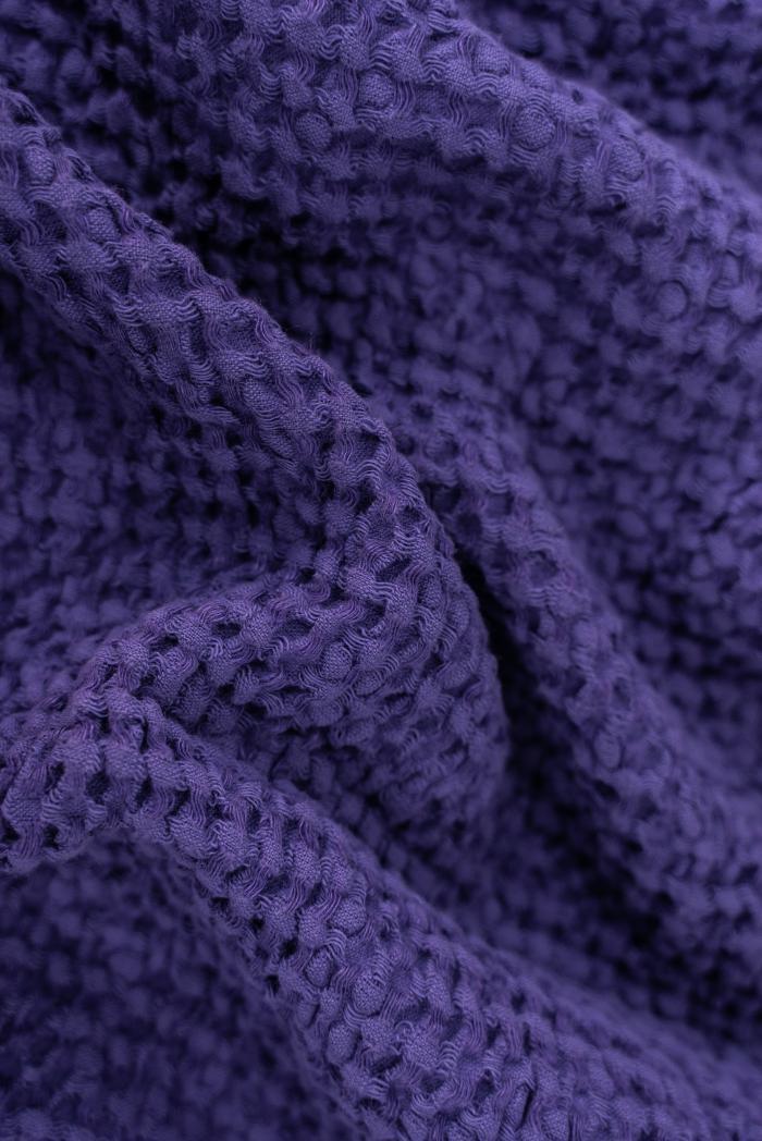 Вафельное полотенце в фиолетовом цвете 75 120 см фото 4>                   <span class=