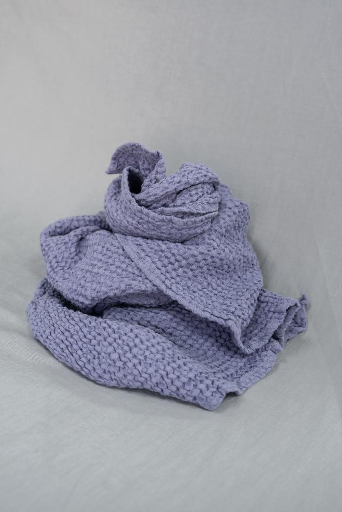 Вафельное полотенце в сиреневом цвете 75 120 см фото 2>                   <span class=