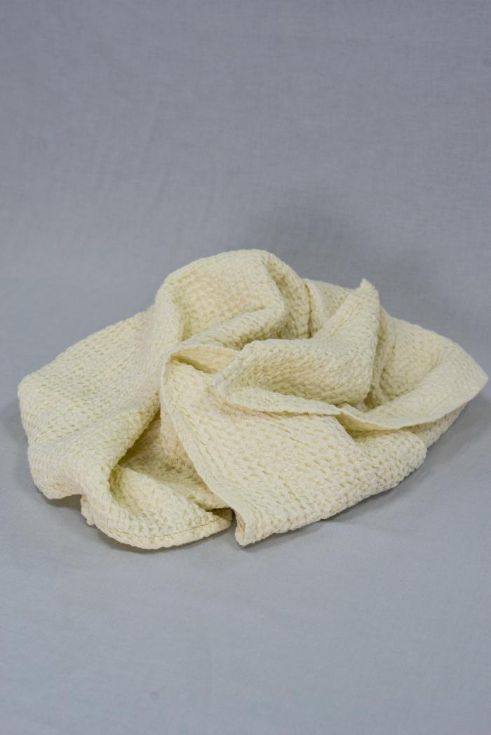 Вафельное полотенце в светло бежевом цвете 75 120 см фото 2>                   <span class=