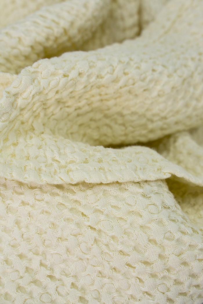 Вафельное полотенце в светло бежевом цвете 75 120 см фото 3>                   <span class=