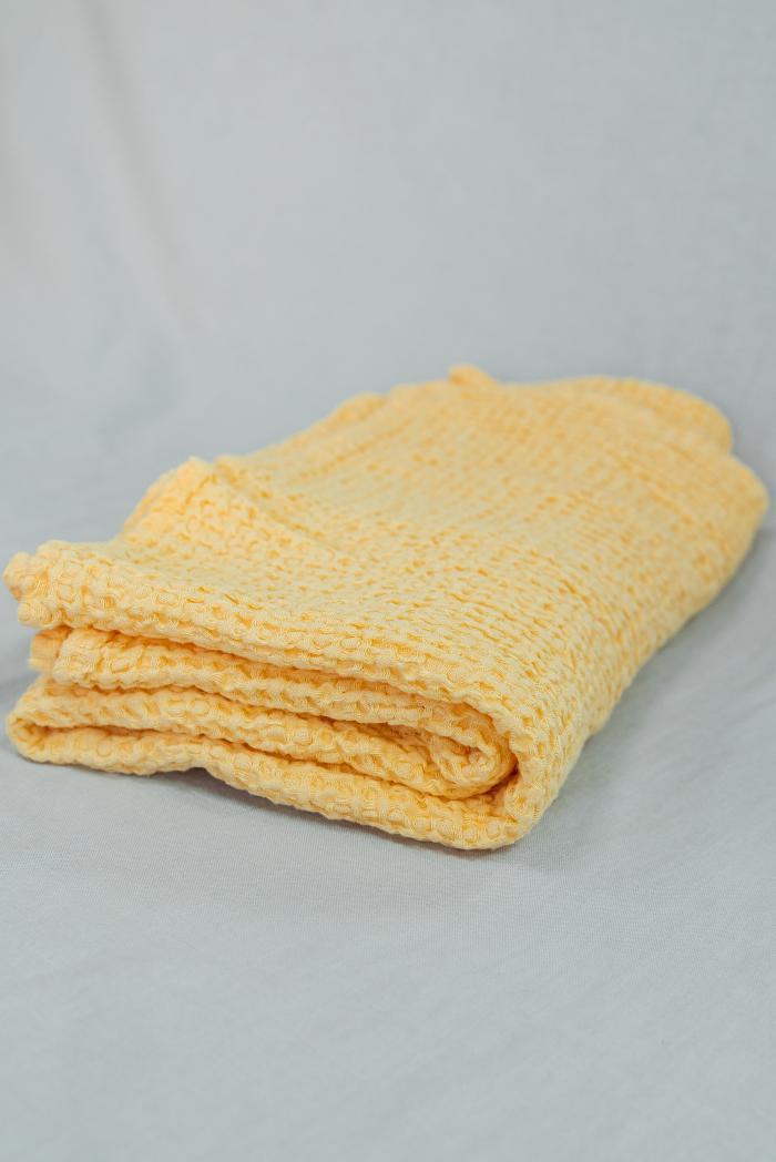 Вафельное полотенце в персиковом цвете 80 140 см фото 1>                   <span class=