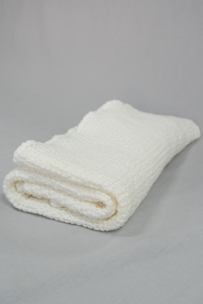 Вафельное полотенце в белом цвете 80 150 см фото 1>                   <span class=
