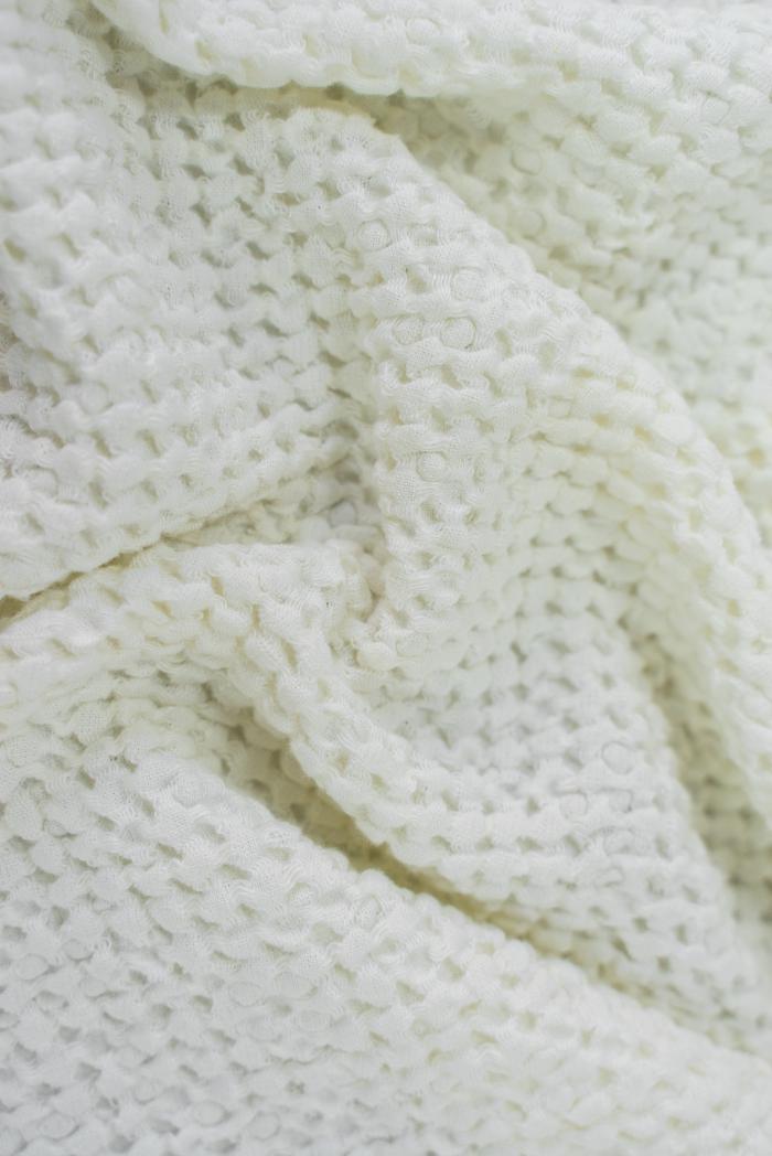 Вафельное полотенце в белом цвете 80 150 см фото 4>                   <span class=
