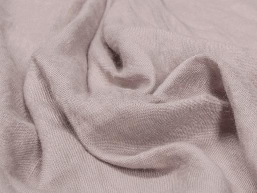 Ткань бытовая с эффектом мятости лен 100 пепельная роза фото 1>                   <span class=