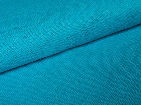 Ткань декоративная лен 100 глубина байкала фото 1>                   <span class=