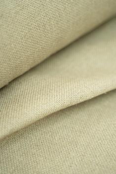Ткань декоративная лен 100 песчаный берег фото 1