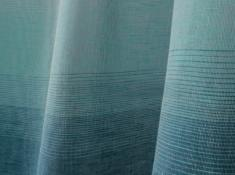 Ткань декоративная п лен голубая бухта фото 1