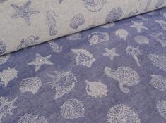 Ткань декоративная п лен морской конек фото 1