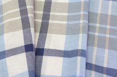 Ткань для постельного белья хлопчатобумажная пестротканая муо на воде цв 1 фото 1