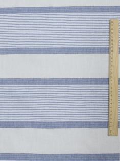 Ткань для постельного белья хлопчатобумажная пестротканая муо на воде цв 2 фото 1
