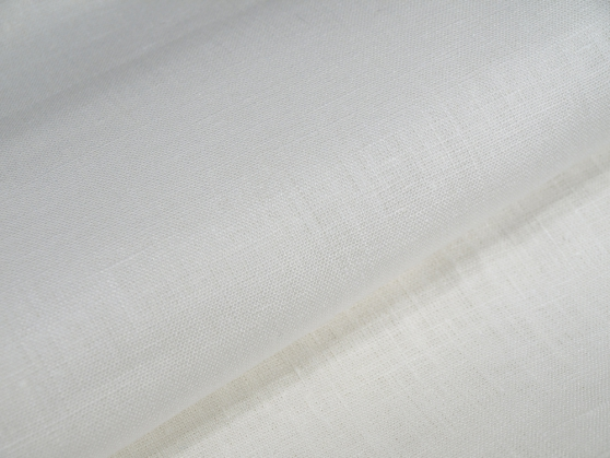 Ткань для постельного белья лен 100 белые облака фото 1>                   <span class=