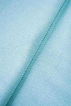 Ткань для постельного белья лен 100 горный подснежник фото 1