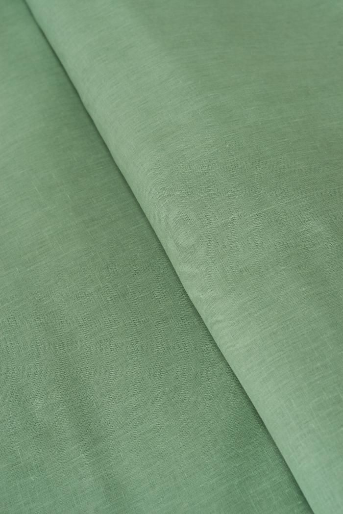Ткань для постельного белья лен 100 малахит фото 3>                   <span class=