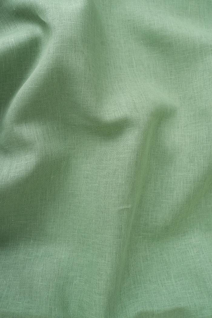 Ткань для постельного белья лен 100 малахит фото 4>                   <span class=