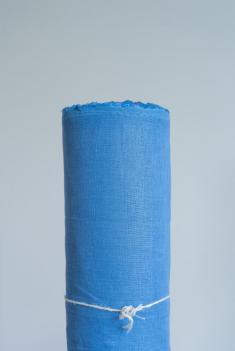 Ткань для постельного белья лен 100 море фото 1