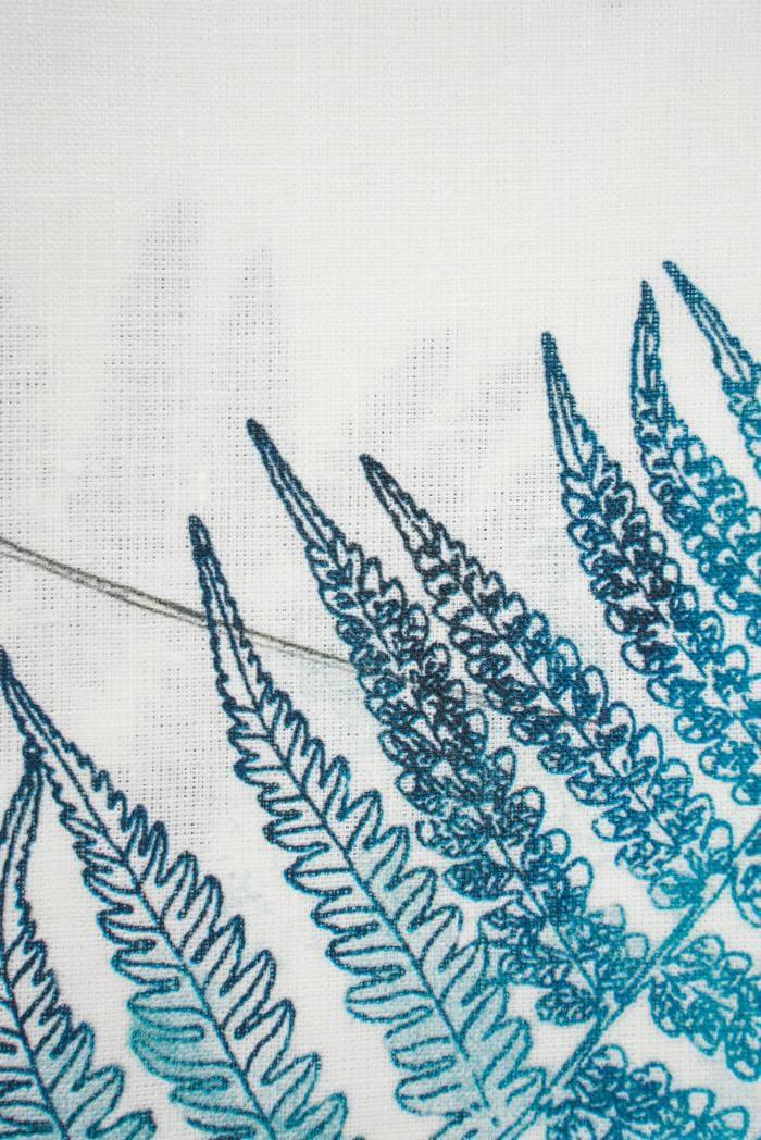 Ткань для постельного белья лен 100 папоротник фото 3>                   <span class=