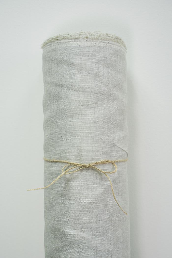 Ткань для постельного белья лен 100 серый дождь фото 2>                   <span class=