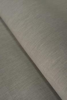 Ткань для постельного белья лен 100 серый камень фото 1
